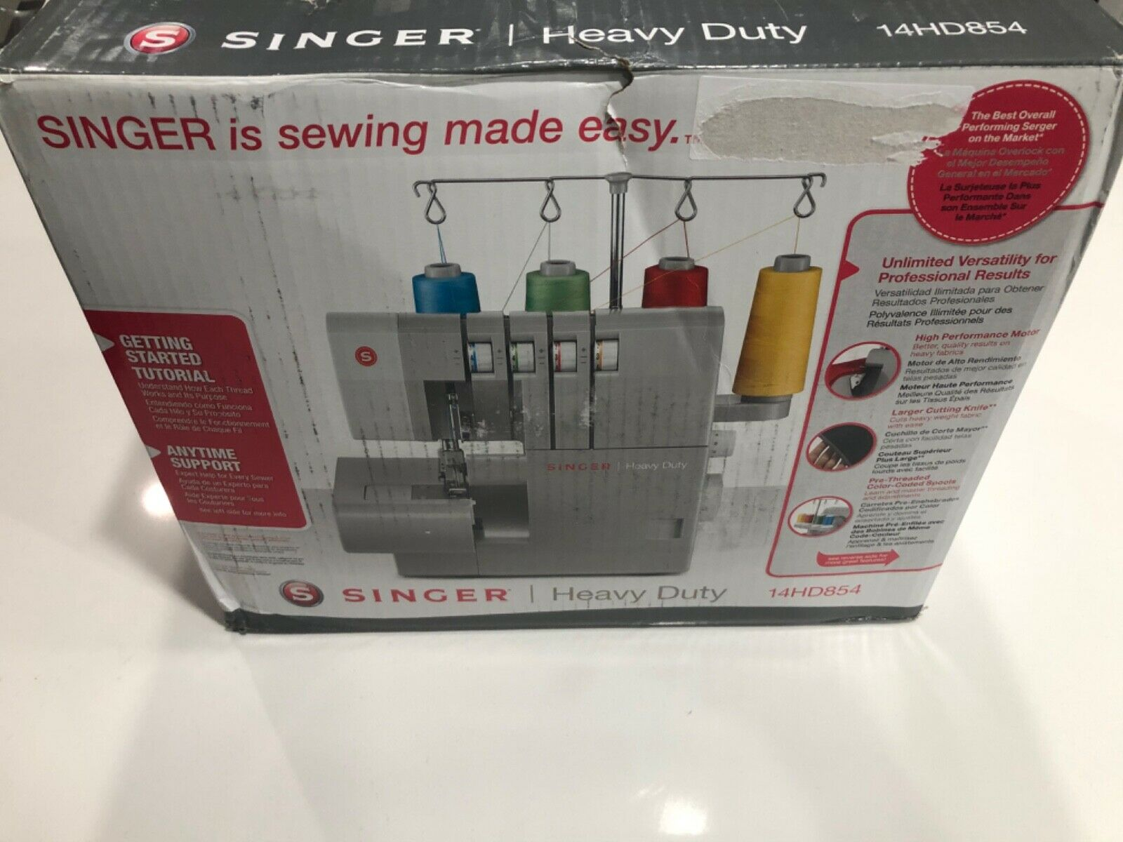 Singer 14HD854 Overlock Serger Machine.