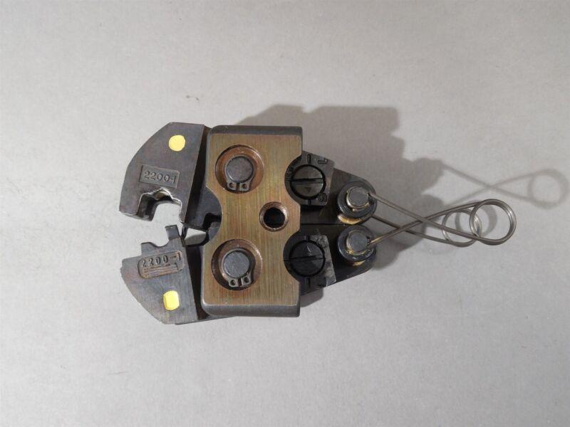 Molex ETC Crimp Tool Head Yellow AT2200