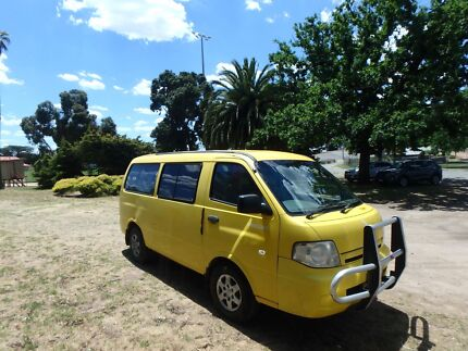 Lovely Kia Pregio Campervan - low km Diesel!!!
