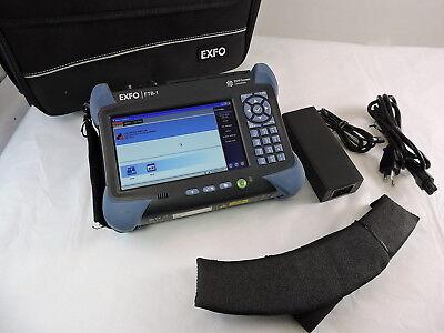 Exfo Ftb-1 Optical Test Platform With Ftb-720-12cd-23b Module Smmm Iolm Otdr