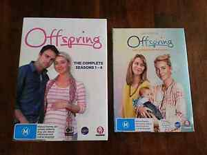 Offspring Season's 1-5  dvd's Knoxfield Knox Area Preview