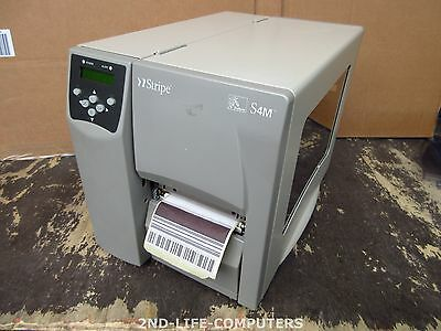 Zebra S4M DT 203DPI ZPL USB Network Thermal Label Printer S4M00-200E-0200D