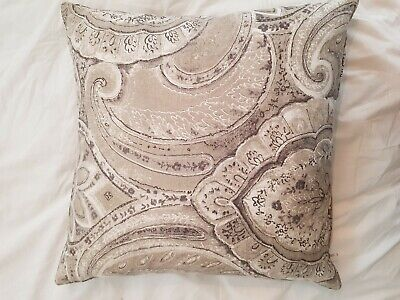 Beautiful Rustic Greys Cushion Perfect Condition