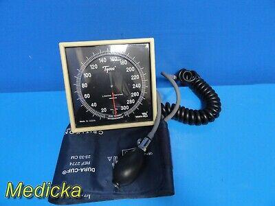 Tycos Jewel Movement Sphygmomanometer W Adult Blood Pressure Cuff 22861