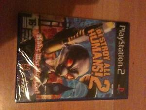 PS2 Destroy All Humans 2 Brand New SEALED! Wollongong Wollongong Area Preview