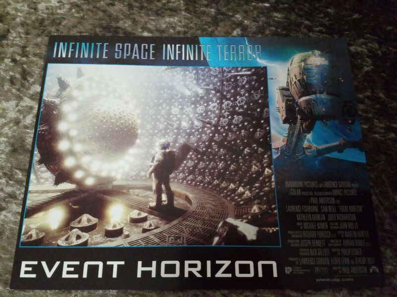 Event Horizon lobby cards - Sam Neill, Joely Richardson - Set of 8