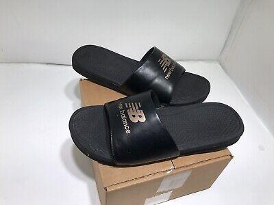 New Balance Athletic Sandalen (Women's NEW BALANCE Athletic Slip-on Shoes Sandals Size 10 Slides - BLACK )