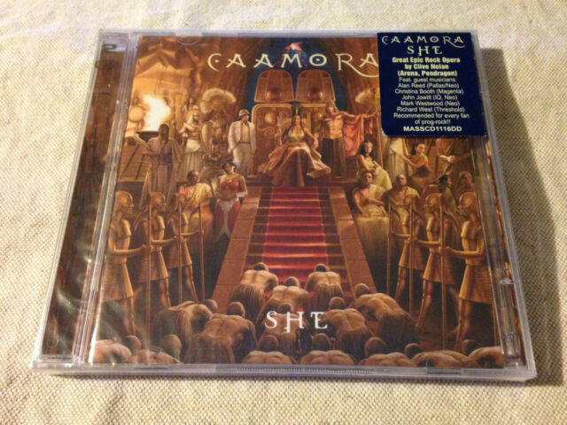 CAAMORA - She 2CD BRAND NEW & SEALED!