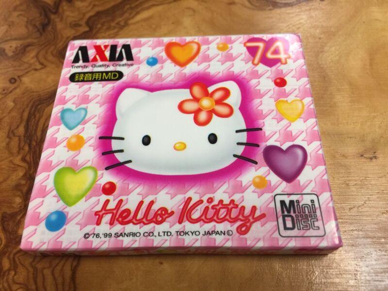 AXIA Hello Kitty minidisc Blank Disc Very Rare 74min