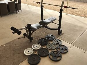Weight Bench plus Weights Two Wells Mallala Area Preview