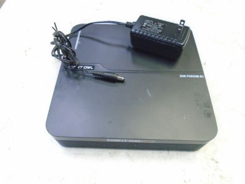 Night Owl 8 Channel THD 3.0 DVR-THD30B-81 with 1TB Harddrive 8CH 3MP w/Adapter