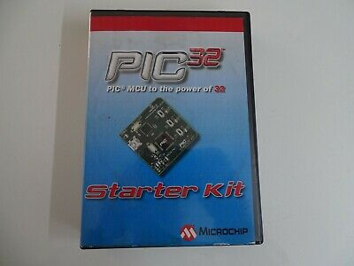Microchip Dm320001 Starter Demo Board 32-bit