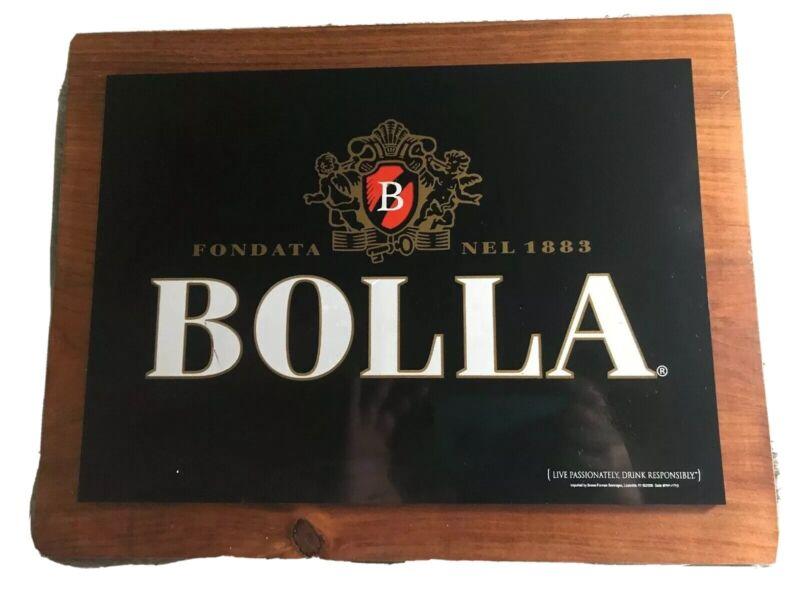Bolla Fondata Nel 1883 Wine Bar Sign ManCave Live Passionately Drink Responsibly