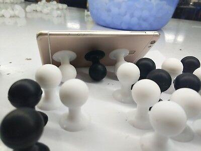 dyhalterung Saugnapf Gummiball Halter Ständer schwarz (Saugnapf Ball)