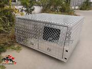 Dual Cab Checker Plate Lift Off Canopy with 2 dog box Campbellfield Hume Area Preview