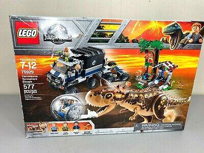 LEGO Jurassic World - Carnotaurus Gyrosphere Escape 75929 577 Pcs - New