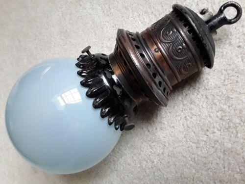 "6"" dia. antique Nernst Lamp Co Pittsburgh ceramic filament light Vtg 1901  bulb"