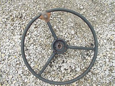 Farmall 504 Utility Tractor Original Ih Ihc Steering Wheel