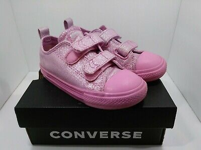 Converse All Star Toddler Pink  Sneakers  Shoes Size 9 Infant