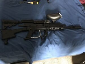 Tippmann 98 custom and attachments for sale.