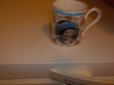Aynsley Queen Mums 100th birthday mug