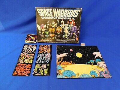 Vintage Colorforms Space Warriors Adventure Set Unpunched 1977 Vtg