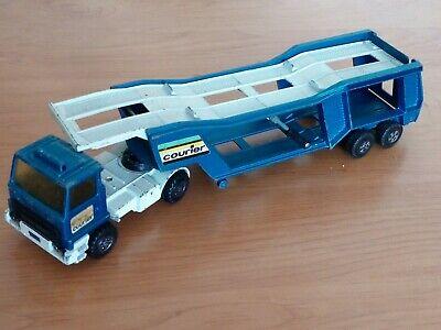 Matchbox Spielzeugauto Autotransporter,  Sattelschlepper COURIER made in England Auto Schlepper Spielzeug