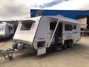 NEW 20'6 REGENT WEEKENDER FAMILY 3 BUNK, ENSUITE, SHOWER, CARAVAN Clontarf Redcliffe Area Preview