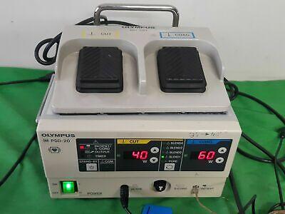 Olympus Psd-20 Electrosurgical Generator Surgical Coagulation Coag Footswitch Uk