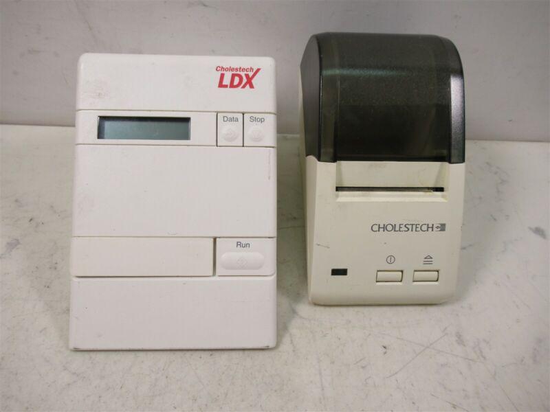 Cholestech LDX Cholesterol Lipid Analyzer Tester & SKGGS003 Thermal Printer