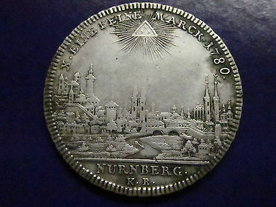 Click now to see the BUY IT NOW Price! GERMAN STATES NURNBERG THALER 1780  CITY VIEW SILVER