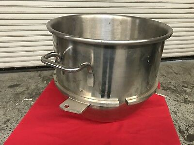 30 Qt Stainless Steel Bowl For 60 Qt Mixer Hobart Nsf 7669 Commercial Accessory