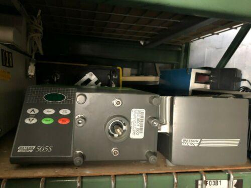 Watson Marlow 505S Peristaltic Pump + Pumphead (w/30 Day Parts & Labor Warranty)