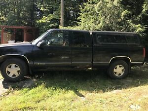 1997 Chevrolet Truck K1500 with Plow