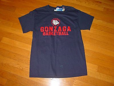 Gonzaga Basketball  Bulldogs T Shirt Nwt  New  Sz     Medium