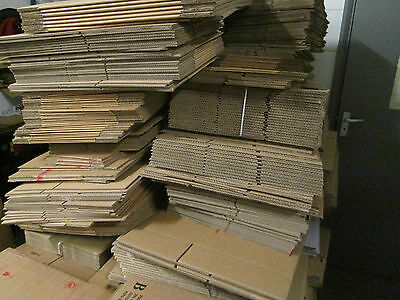 55  X .CARDBOARD BOXES POSTAL PACKAGING BOXES JOBLOTS boxes ..,packing boxes, '
