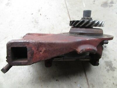 Farmall Cub Ihc Steering Gear Box Housing Steering Arm Worm Gear Farm All