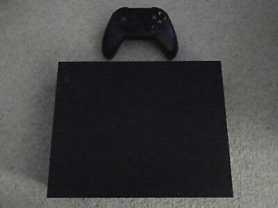 Black Xbox One X 1TB Console Boxed in Excellent Condition  1X