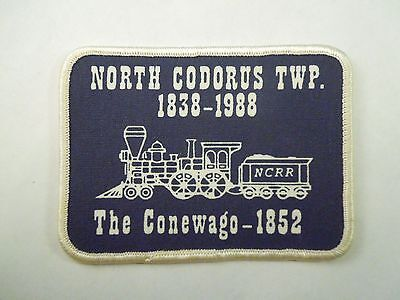 Vintage 1988 Ncrr North Codorus Twp The Conewago 1952 Patch