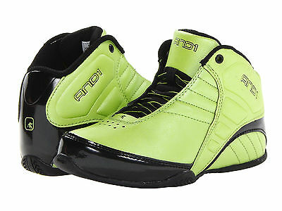 New AND1 Kids Rocket 3.0 Mid Basketball Shoes Sneakers Boots Boy 7 fit 5