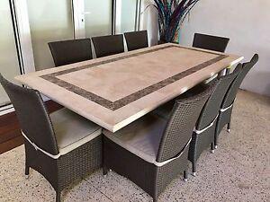 Travertine Outdoor Table Gumtree Australia Free Local Classifieds