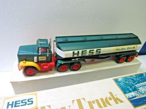 Hess trucks 1977 Gasoline Oil Tanker