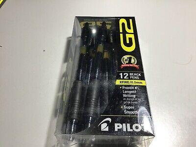 Pilot G2 Pil31002 0.5mm Premium Retractable Gel Pen - Black