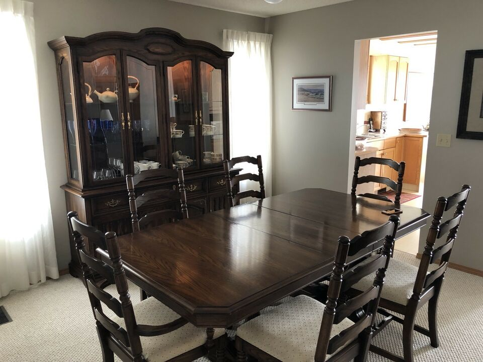 Knechtel Dark Oak Dining Set