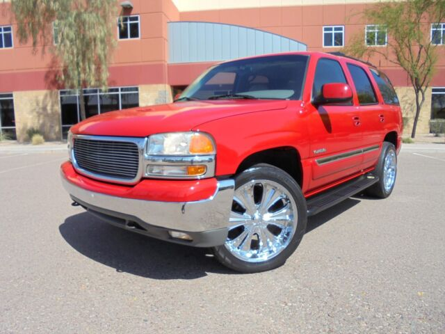 Image 1 of GMC: Yukon SLT Red 1GKEC13T6YJ203672
