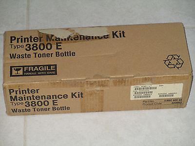 Ricoh Printer Maintenance Kit Type 3800E Waste Toner Bottle, yield 50k (Ricoh 400662 Waste Toner)