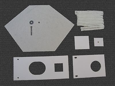 Waste Oil Heater Parts Lanair Mx 150200 Combustion Chamber Refractory Brick Kit