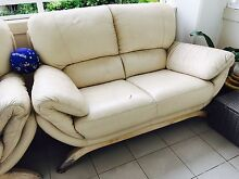 2 x2 seats leather sofa Breakfast Point Canada Bay Area Preview
