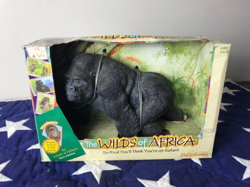 Rare 1997 ERTL WILDS OF AFRICA SERIES Gorilla Safari Wildlife Figure PVC