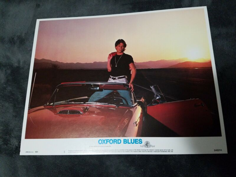 Oxford Blues lobby cards - Rob Lowe  - Set of 8